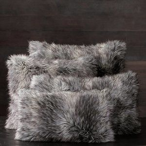 Restoration Hardware | Faux Fur Pillow Covers QTY2